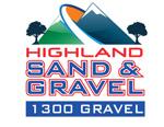 Highland Sand & Gravel Logo